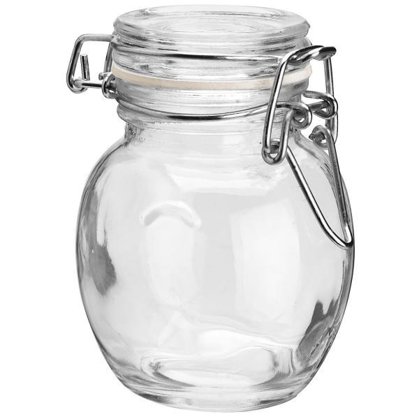 Bügelverschluss-Gläser Ebro; 0.11l, 4.2x8.0cm (DxH); transparent ...