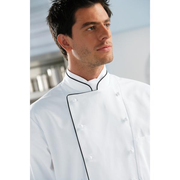 Passepoil Pulsiva Veste Paul Avec Homme De Cuisine Manches Longues r88S0U1